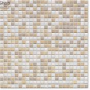 Мозаика Jasba 8301 Natural Glamour 1,2x1,2 mother-of-pearl/sandstone-mix (10шт-1м²)