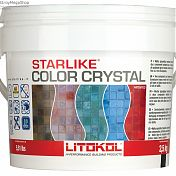 Затирка LITOKOL STARLIKE COLOR CRYSTAL С 2.5кг