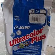 Затирка Mapei Ultracolor Plus 3 группа  5 кг.